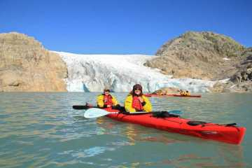 Fjord, Kayak and Blue Ice trip display picture