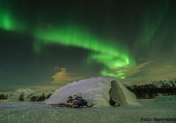 Northern lights in Finnmark