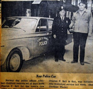 New Police Car for Norway