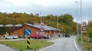 Storskog at the Russian border