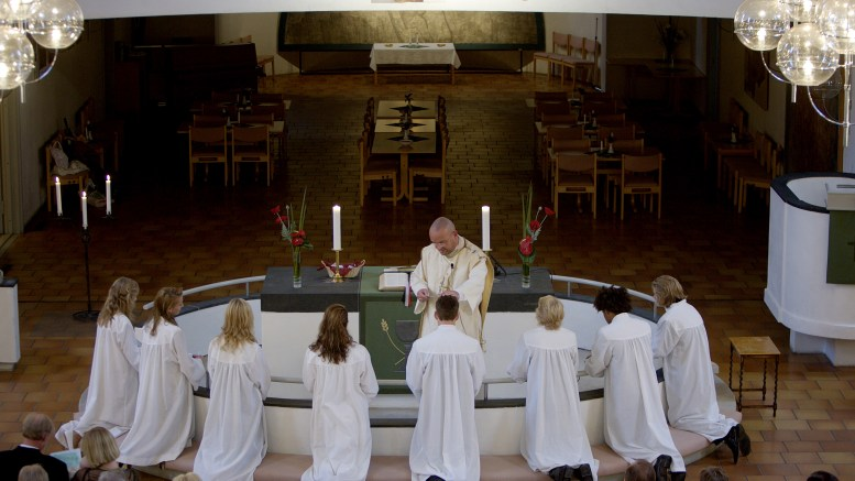 The church will entice young people to choose a priest profession