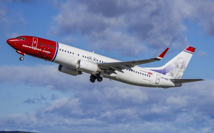 Norwegian reports solid passenger growth in March
