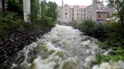 Alerts flooding in the lowlands around Oslo Fjord