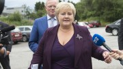 """Prime Minister Solberg man shall """"first lady"""" match with Michelle Obama"""