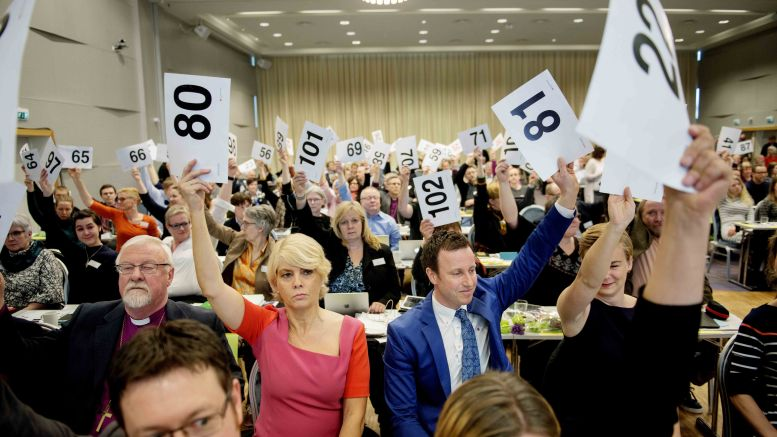 Large majority want gay marriage in church