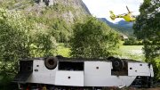 One killed in bus accident in western Norway