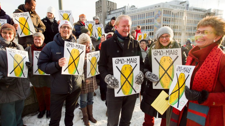Demonstration against genetically modified food