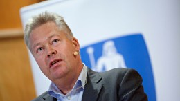 Gjensidiges Chief Executive Helge Leiro Baastad