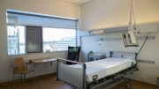 Sick room at Akershus University Hospital