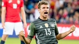 Germany's Thomas Müller