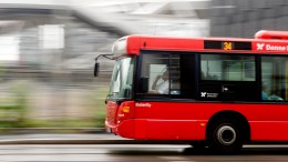 Illustrative image of red bus