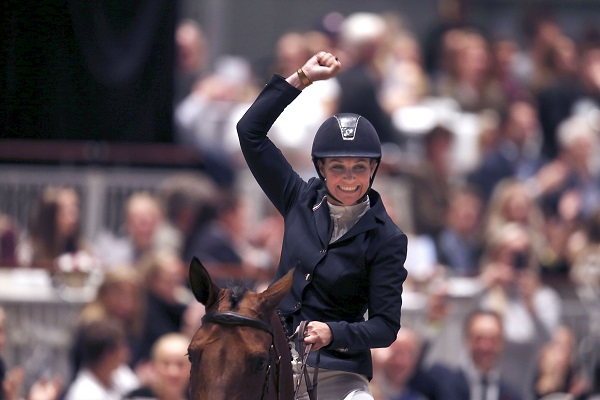Princess Märtha Louise at the Oslo Horse Show at the Telenor Arena.