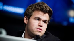 Chess player Magnus Carlsen