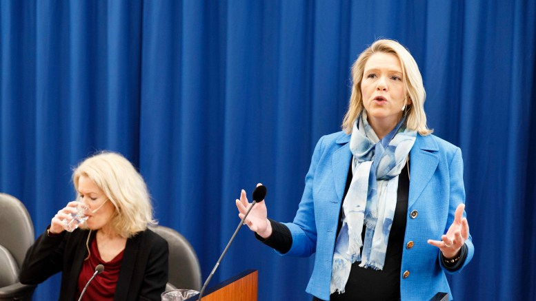 Immigration and Integration Minister Sylvi Listhaug