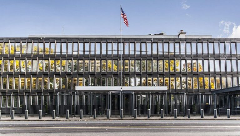 Sale of us embassy started norway today for Consul getting started