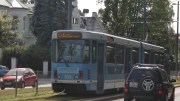 Tram in Oslo Tram peeing traffic accident