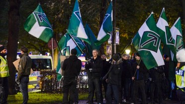 The Neo-Nazi organization The Nordic Resistance Movement