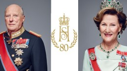 Norwegian People, King, Queen, Logo