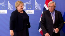 Prime Minister Erna Solberg, Poland and Hungary