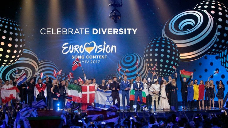 JOWST, Eurovision Song Contest, in Kiev, Ukraine,