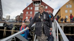 Prime Minister Erna Solberg, outlook is brightest in the north