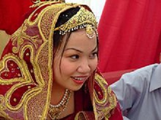 Nikah, Married young girl