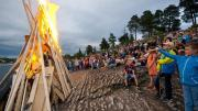 Midsummer celebrations in Oslo 23 June