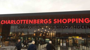 Charlottensbergs Shoppingcenter border trade