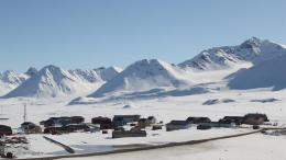 Ny Ålesund. The world's northernmost town