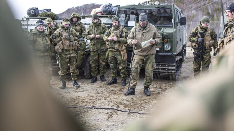 National Guard exercise Oter in Finnmark