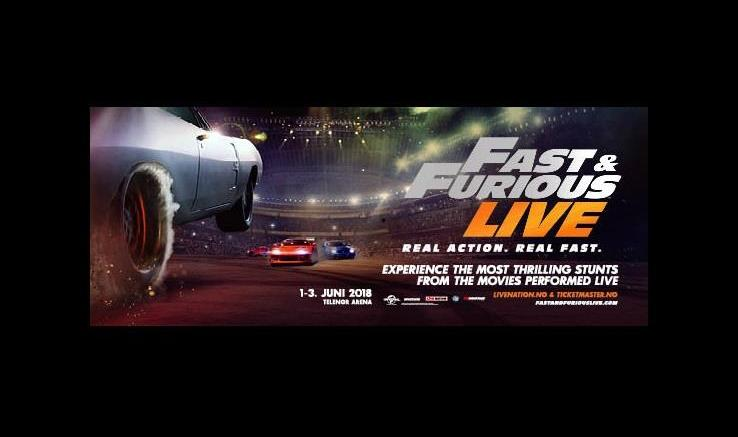 Fast & Furious Live to Telenor Arena