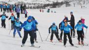 Skiing fun for one million children