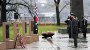 Wreath Ceremony Akershus Crown Prince fallen soldiers