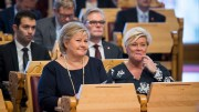 Prime Minister Erna Solberg, and Minister of Finance Siv Jensen