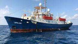 Lifeline migrant ship malta