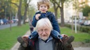 Grandfather with his grandchild