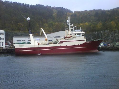 fishing vessel Langenes