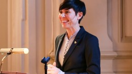 Minister of Foreign Affairs Ine Eriksen Søreide