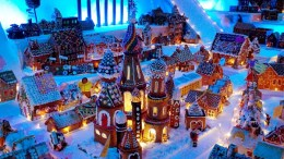 world's largest gingerbread city