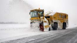 Oslo Airport, Snow Plough, Flesland