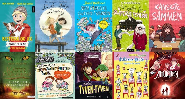 Norwegian children books