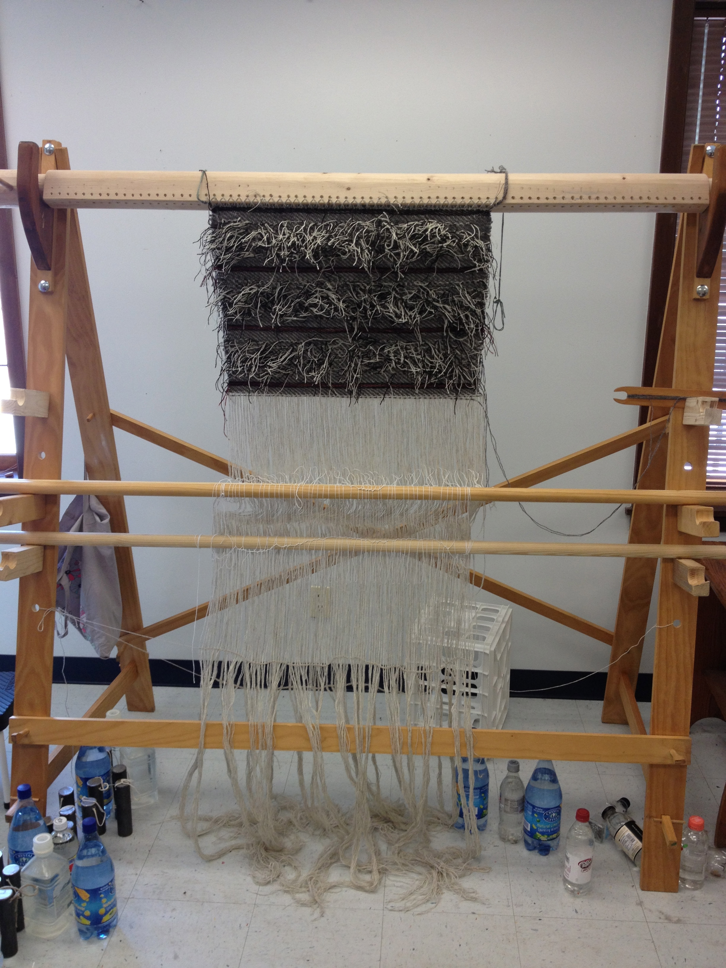 Warp-weighted Loom | Article Categories | Norwegian Textile Letter