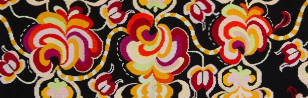 Detail from the an Arvestykker tapestry