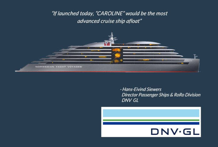 The most advanced cruise ship afloat