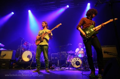 Solko at the UEA recently, supporting The Wailers