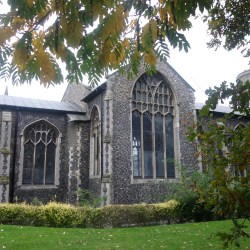 Transept chapel