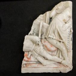 Alabaster fragments