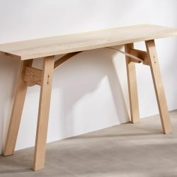 Natural Ash Console Table