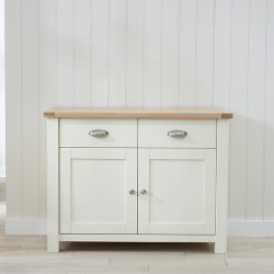 Sandringham Oak and Cream small Sideboard
