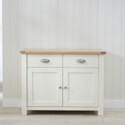 Sandringham Oak and Cream small Sideboard